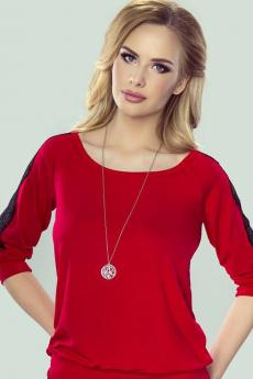 Blouse femme Fabia red-black