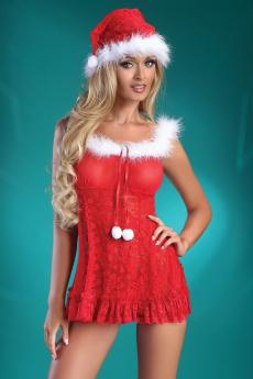 Costume sexy femme Christmas Bell
