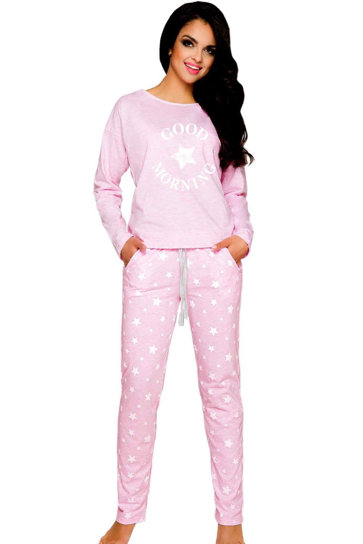 pyjama femme nadia 1190 pink amiatex fr. Black Bedroom Furniture Sets. Home Design Ideas